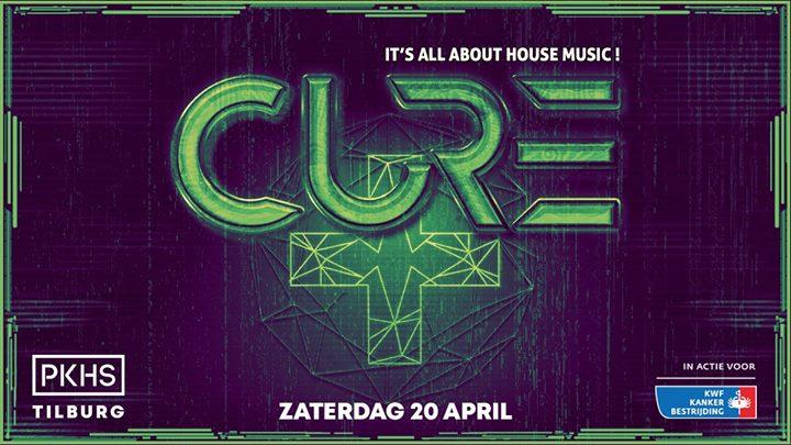 Cure Festival Tilburg // PKHS // in actie voor KWF