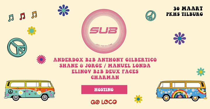 SUB Stage hosting at Go Loco PKHS