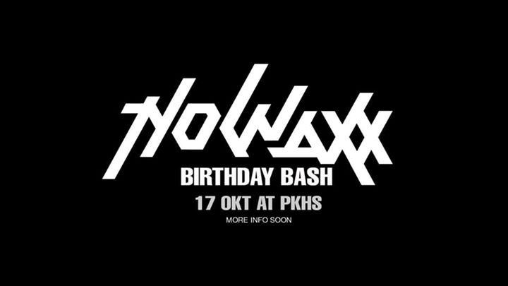 Nowaxx B-Day Bash 2020! (40 Years Edition)